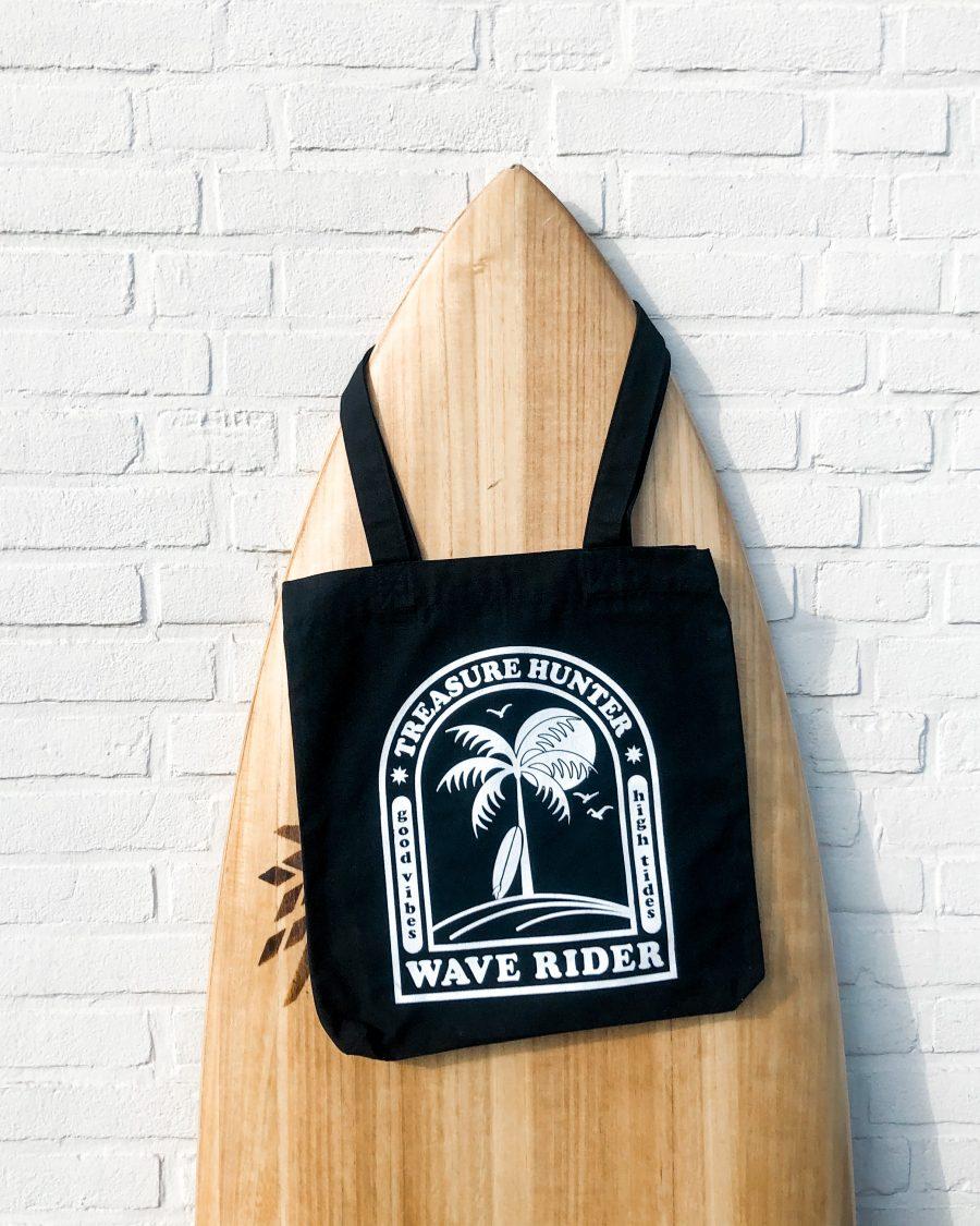 Surf tot-bag voor surfgirls
