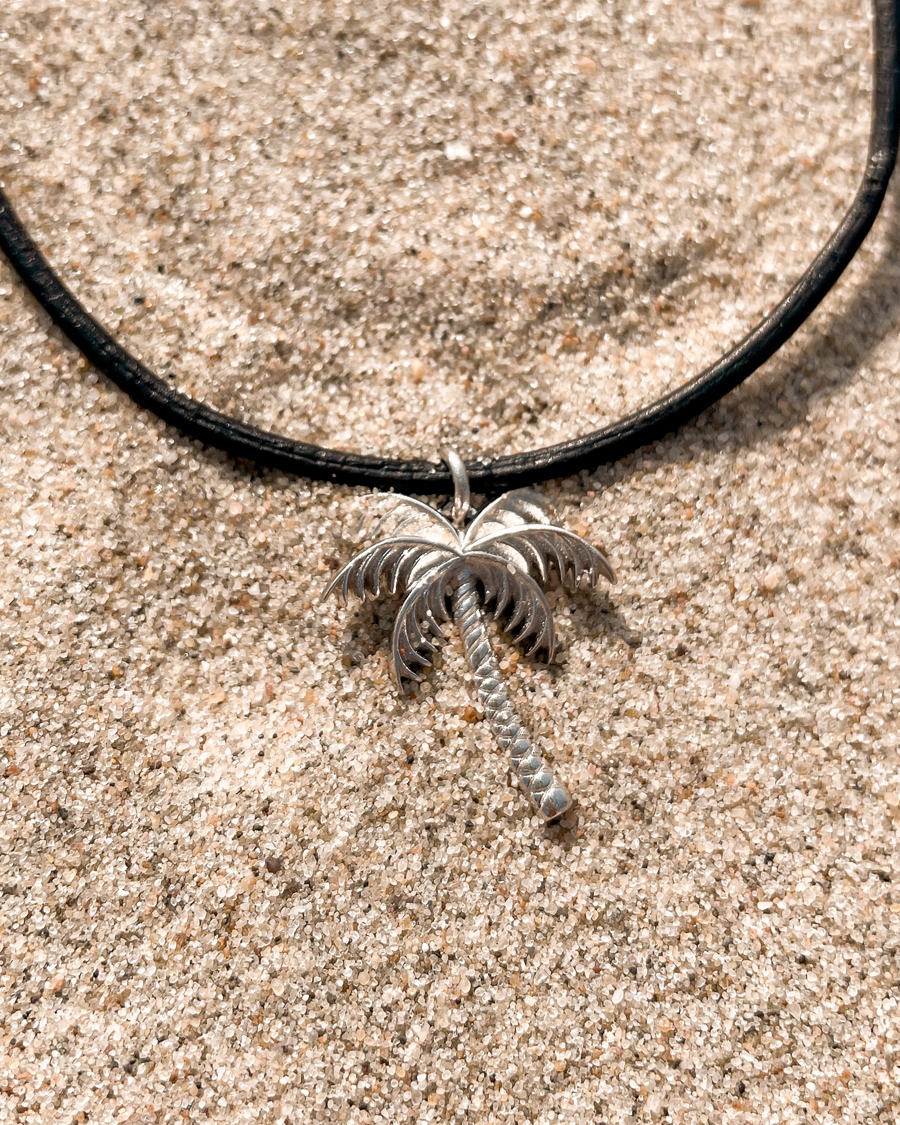 wander-palmboom-ketting-zilver-zand